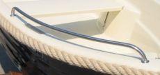 4er Set Edelstahl Relings für Ruderboot Allrounder IV