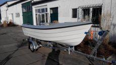 KOMPLETT: Ryds 438 BF Fishing Boat Konsolenboot inkl. Mercury Rigging - Trailer - Motor - Montage