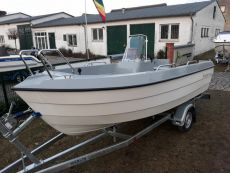 KOMPLETT: Ryds 486 BF Angelboot BIG Fish inkl. Rigging + Trailer + Motor + Montage!