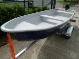 Boot Anka + 5 PS Motor Mercury + Trailer Marlin BTE 400