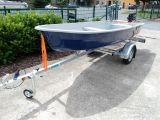 Boot Anka + 3,5 PS Motor Mercury + Trailer Marlin BTE 400