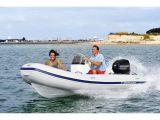Ocean Runner 290 mit 15 PS Mercury inkl. Steuerstand mit langer Sitzbank