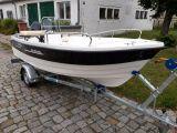 ANGEBOT: Motorboot SeaRider 450 mit Mercury 25 PS und Trailer NEU