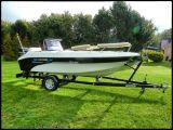 ANGEBOT: Motorboot SeaRider 475 mit Mercury 30 PS und Trailer NEU